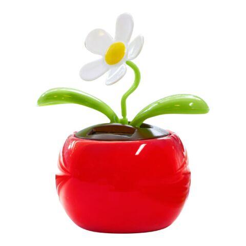 Flor carga solar rojo | Sin montaje de publicidad