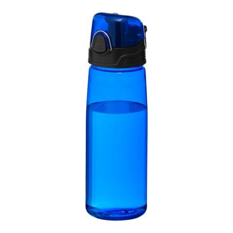 Botella deportiva Capri Estándar | Azul transparente | sin montaje de publicidad | no disponible | no disponible