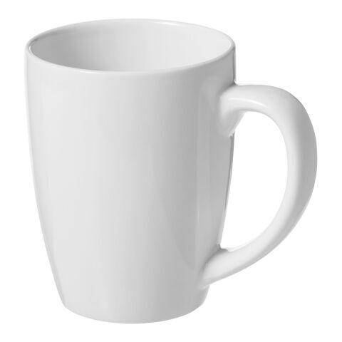 Taza de cerámica Bogota blanco | sin montaje de publicidad | no disponible | no disponible
