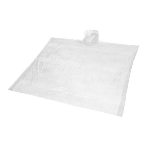 "Poncho 100 % biodegradable ""Mays"" blanco 