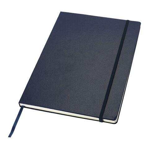 "Libreta de ejecutivo ""Classic"" azul | Serigrafía 1 color | frontal | 140 mm x 200 mm | no disponible"