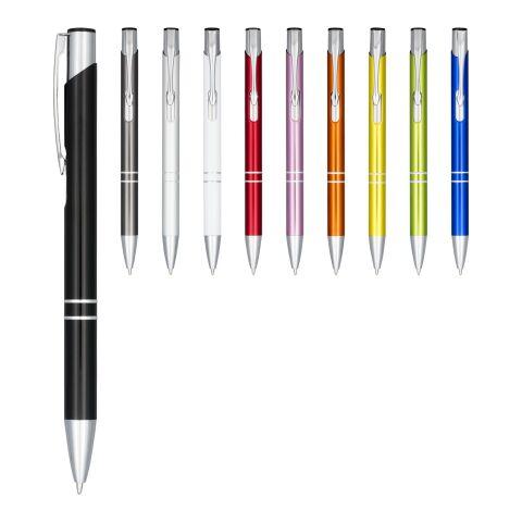 """Bolígrafo de aluminio anodizado con mecanismo de presión """"Moneta"""""""