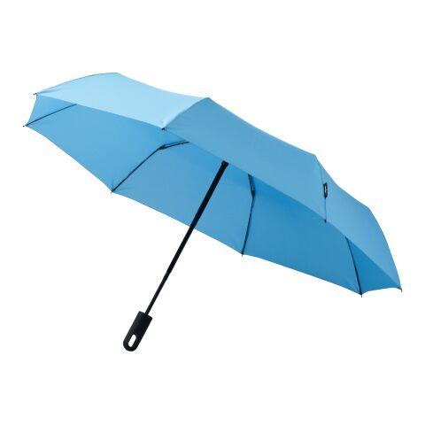 Paraguas de apertura y cierre automáticos 3 secciones 21,5'' Traveler azul | sin montaje de publicidad | no disponible | no disponible | no disponible