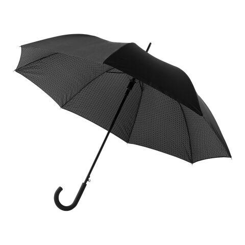 Paraguas automático de doble capa Cardew 27'' negro intenso | sin montaje de publicidad | no disponible | no disponible