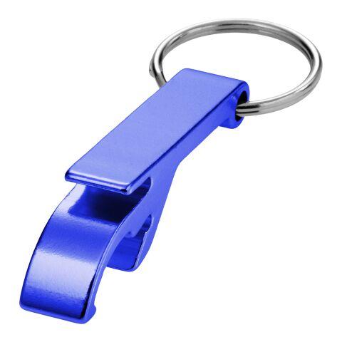 Llavero de aluminio abrebotellas y latas Tao Estándar | azul | sin montaje de publicidad | no disponible | no disponible | no disponible