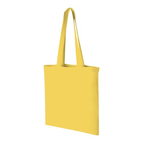 "Tote de algodón ""Carolina"" amarillo 