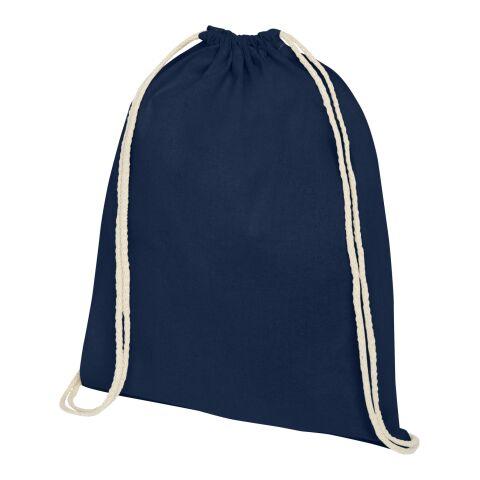Mochila de algodón de alta calidad Oregon Estándar | Azul marino | sin montaje de publicidad | no disponible | no disponible | no disponible