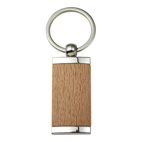 Llavero de metal y madera. marrón | sin montaje de publicidad | no disponible | no disponible