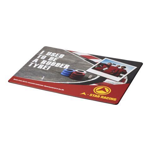 Alfombrilla para ratón Brite-Mat® con material de neumáticos bronce negro | sin montaje de publicidad | no disponible | no disponible