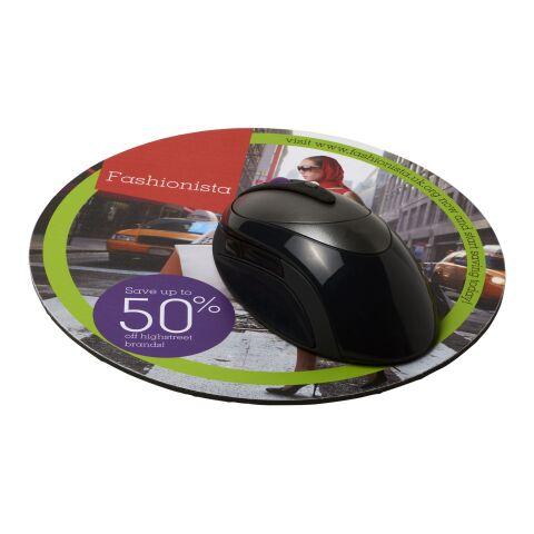 Alfombrilla para ratón redonda Q-Mat® bronce negro   sin montaje de publicidad   no disponible   no disponible