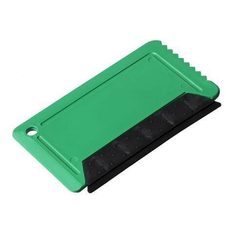 Rascador de hielo de tamaño de tarjeta de crédito Freeze con frotador Verde | sin montaje de publicidad | no disponible | no disponible