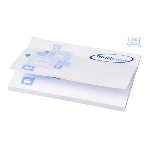 Stickynotes 105x75 blanco | 50 Blatt | sin montaje de publicidad | no disponible | no disponible