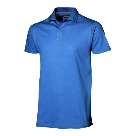 "Slazenger Polo de manga corta ""Advantage"" Azul clásico real 