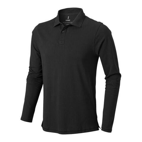 Oakville Langarm Poloshirt Antracita | L | sin montaje de publicidad | no disponible | no disponible | no disponible