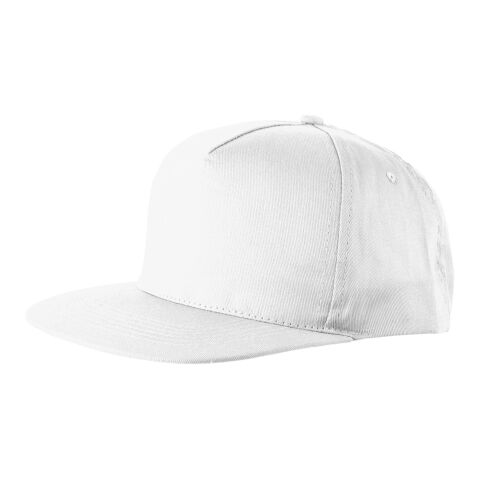 "Gorra 5 paneles ""Baseball"" blanco 