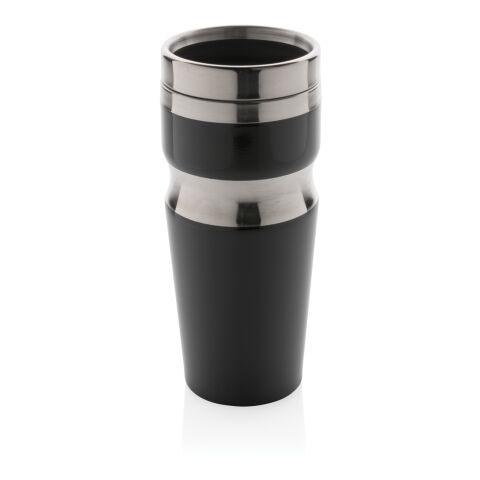 Vaso Contour negro-plata | sin montaje de publicidad | no disponible | no disponible | no disponible