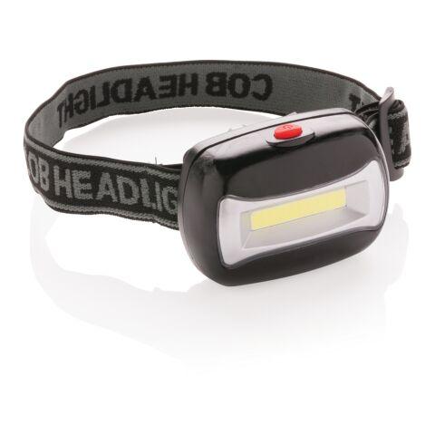 Linterna de cabeza COB negro | sin montaje de publicidad | no disponible | no disponible