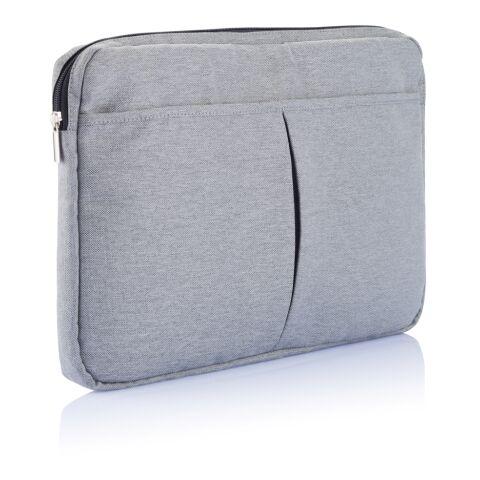 "Funda para portátil 15"" sin PVC gris | sin montaje de publicidad | no disponible | no disponible | no disponible"
